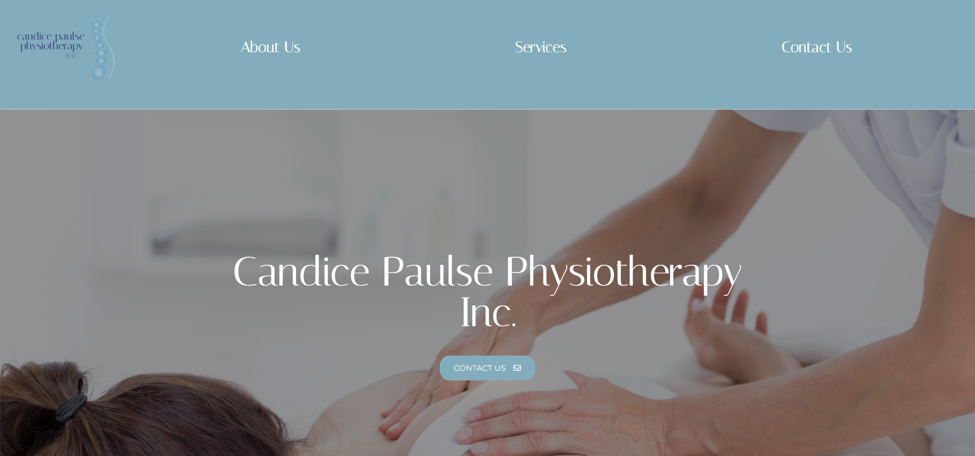 Candice Paulse Physiotherapy Website